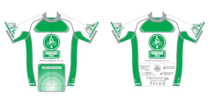 Curbside bike jersey