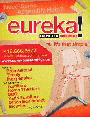 Eureka! Promotional Flyer