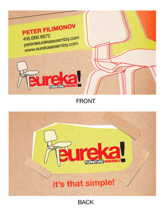 Eureka! Business Card